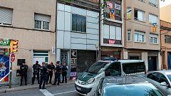 Nueve independentistas detenidos por presuntos delitos de terrorismo en Cataluña