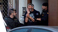Nueve independentistas detenidos por presuntos delitos de terrorismo en una operación en Cataluña