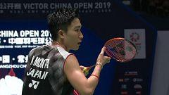 Bádminton - Open de China. Final masculina: Momota - Ginting