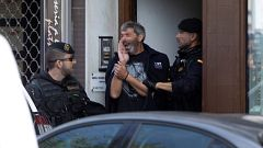 Detenidos nueve independentistas que planificaban acciones violentas