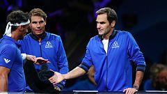 Federer y Nadal ejercen de entrenadores en la Laver Cup