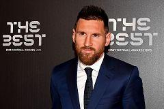 """Messi: """"Es un premio que no tenía así que estoy contento"""""""