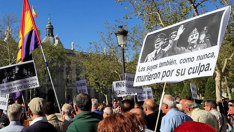 El Supremo pone fin a un año de batallas judiciales para exhumar a Franco del Valle de los Caídos