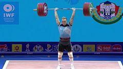 Halterofilia - Campeonato del Mundo 2019. Final 96 kg. Masculinos, dos tiempos