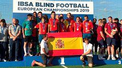 España se impone a Francia y levanta su octavo Europeo de fútbol para ciegos