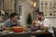 Hacer de comer - Berenjena frita y fabada