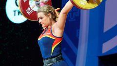 Lydia Valentín se cuelga el bronce mundial en dos tiempos en Tailandia