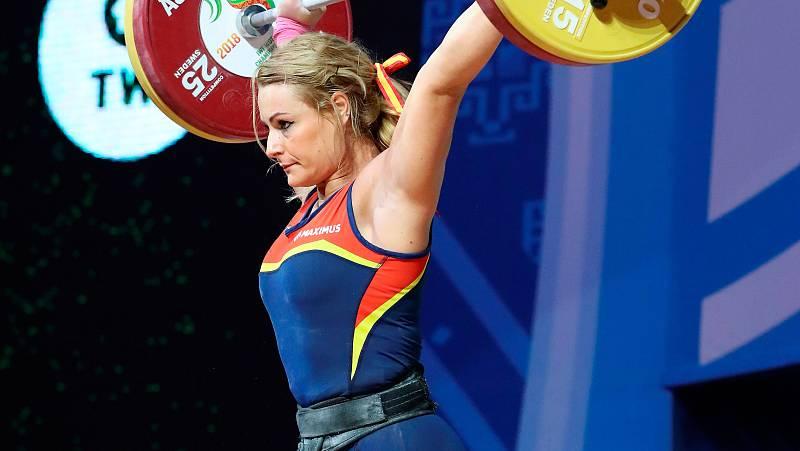 La haltera española Lydia Valentín ha conseguido la medalla de bronce en dos tiempos dentro del Mundial de halterofilia de Tailandia 2019, al levantar 138 kilos.