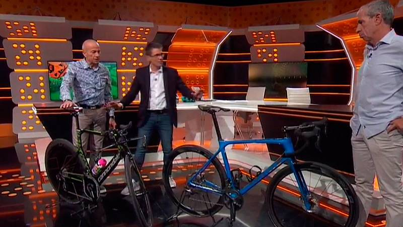 ¿Qué diferencias hay entre una bicicleta de contrarreloj y una bicicleta de ruta?