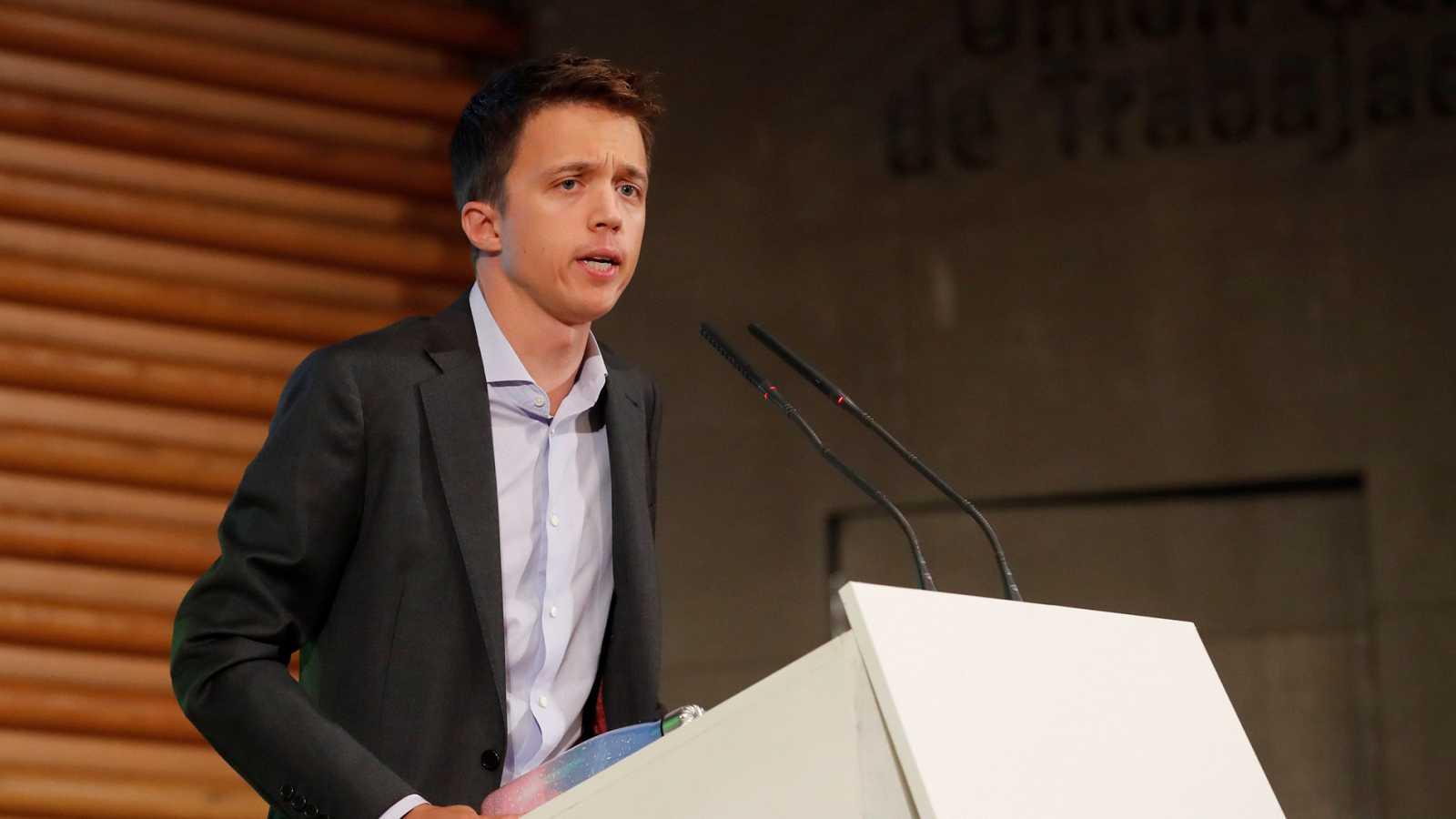 Íñigo Errejón encabezará Más País para las elecciones generales del 10N