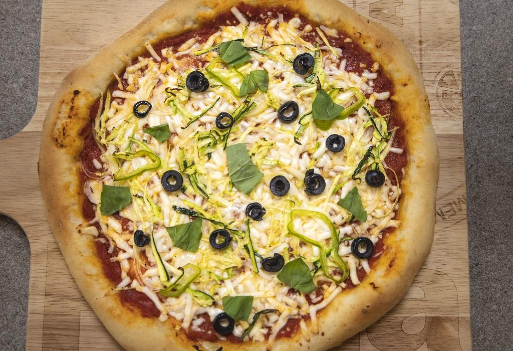 pizza de vegetales ingredientes