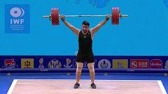Halterofilia - Campeonato del Mundo 2019. Final 109 kg. Masculino. Arrancada