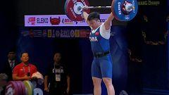 Halterofilia - Campeonato del Mundo 2019. Final 87 kg. Femenino