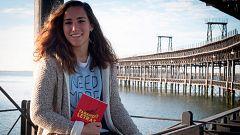 Sara Serrat, fútbol y literatura en la portería del Sevilla