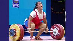 Halterofilia - Campeonato del Mundo 2019. Final 87 kg. Femenino Dos tiempos