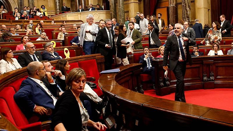 Bronca en el Parlament por los siete CDR encarcelados