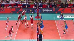 Voleibol - Campeonato de Europa Masculino. 1ª semifinal: Polonia - Eslovenia