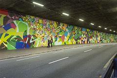 Para Todos La 2-Contorno urbano interviene artísticamente en espacios públicos