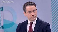 Los desayunos de TVE - Teodoro García Egea, secretario general del Partido Popular, y Pepe Álvarez, secretario general de UGT