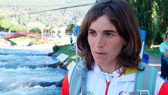 """Maialen Chourraut: """"Lo prioritario de este Mundial era sacar la plaza olímpica"""""""