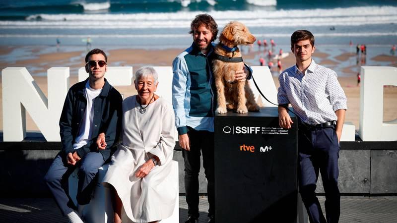 Daniel Sánchez Arevalo ha presentado su nuevo trabajo 'Diecisiete', en Festival de San Sebastián