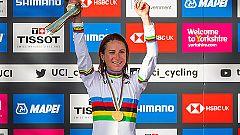 La holandesa Van Vleuten, campeona del mundo de ciclismo