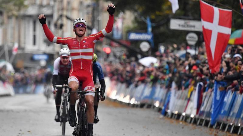 Pedersen, campeón del mundo de ciclismo en ruta