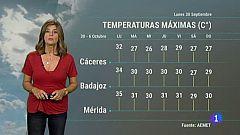 El tiempo de Extremadura - 30/09/19
