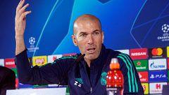 """Zidane, sobre el partido contra el Brujas: """"Es una oportunidad de devolver a la afición lo que se merece"""""""