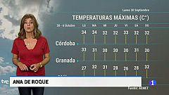 El tiempo en Andalucía - 30/09/19