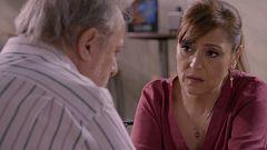 Servir y Proteger - Eustaquio le comunica a María que Guadalupe ha fallecido