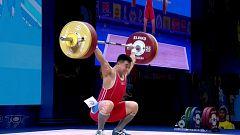 Halterofilia - Campeonato del mundo: Final 81 kg. Masculino