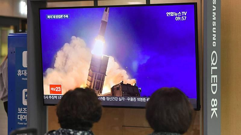 Corea del Norte lanza un nuevo misil antes de retomar los contactos con Washington