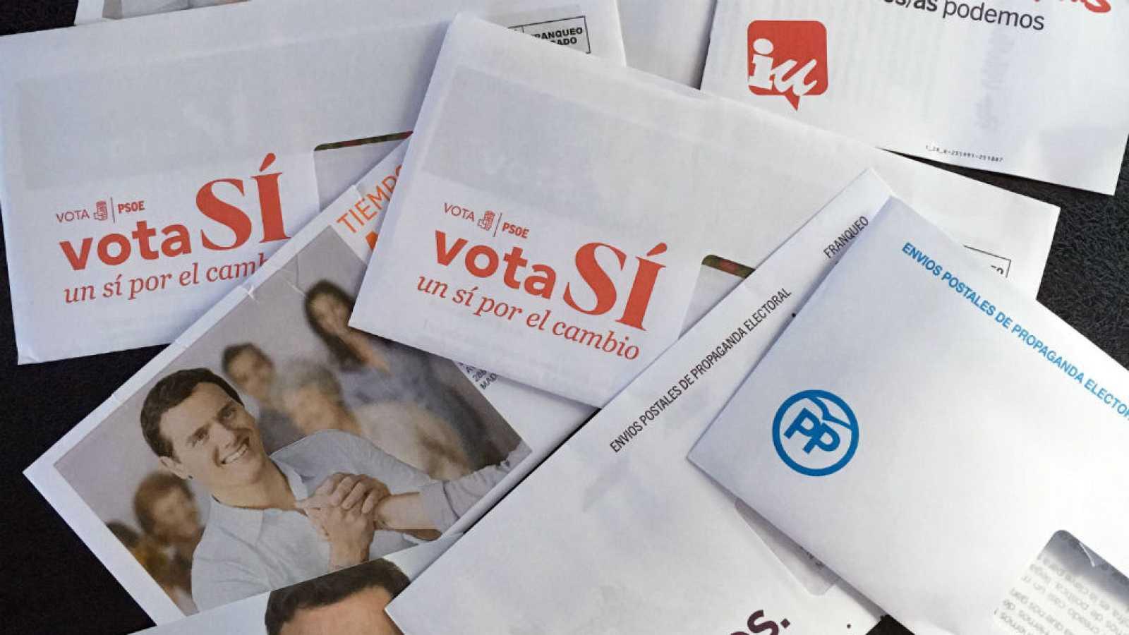 Todos los partidos, excepto el PNV, firman un acuerdo para reducir publicidad electoral
