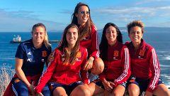 """La selección femenina, """"con muchas ganas e ilusión"""" por empezar el camino a la Euro'2021"""