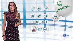 Lotería Nacional + La Primitiva + Bonoloto - 03/10/19