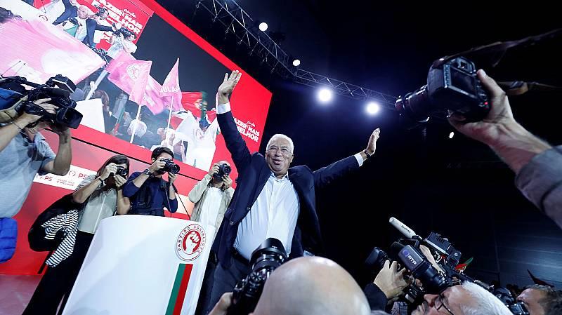 El Partido Socialista de António Costa, favorito en las elecciones portuguesas