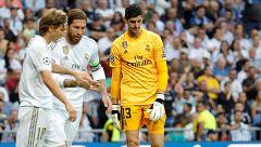 """Zidane: """"Courtois es fuerte, no es el único responsable"""""""