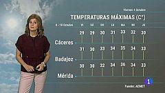 El tiempo en Extremadura - 04/10/19