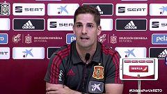 Fútbol - Rueda de prensa del seleccionador español Robert Moreno