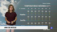 El tiempo en Andalucía - 04/10/19