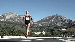 Atletismo - Carrera Panes-Potes. Subida al desfiladero
