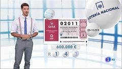 Lotería Nacional - 05/10/19