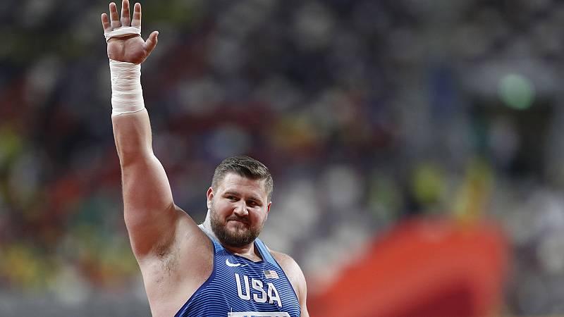 Kovacs gana con un lanzamiento de 22,91 metros la mejor final de peso de la historia