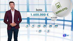 Bonoloto+Primitiva - 05/10/19