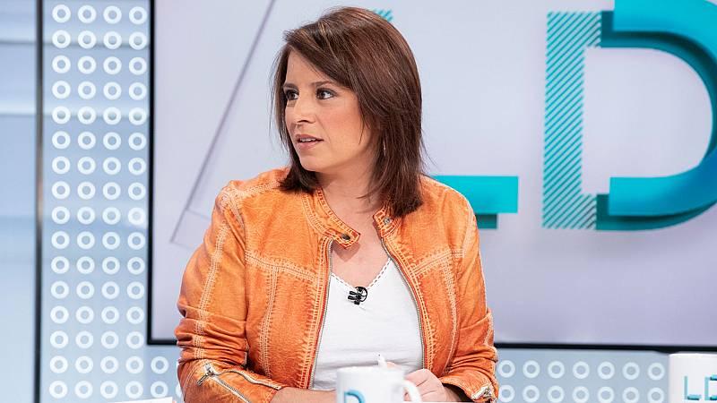 """Lastra critica que Iglesias afirme que el PSOE """"solo es de izquierdas si pacta con Unidas Podemos"""""""
