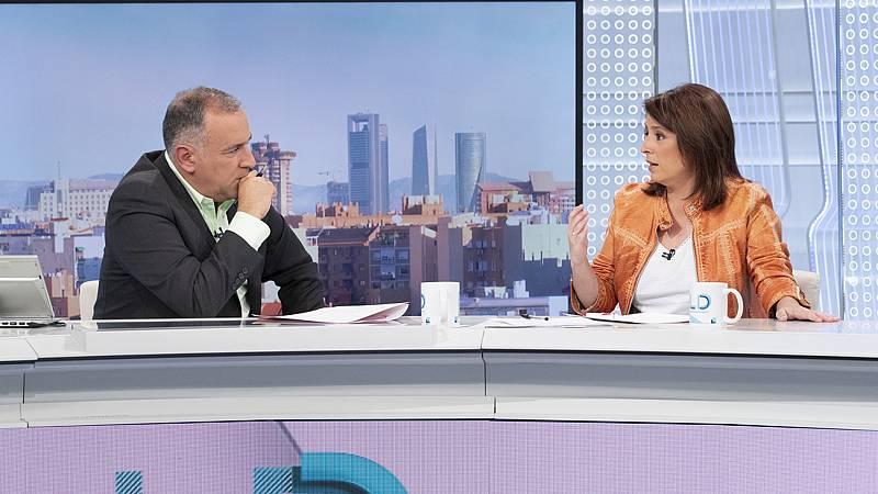 """El PSOE descarta una gran coalición con el PP y considera que con Unidas Podemos tiene """"una agenda común"""""""