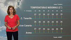 El tiempo en Canarias - 07/10/2019
