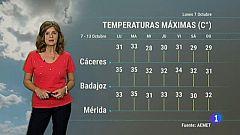 El tiempo en Extremadura - 07/10/19