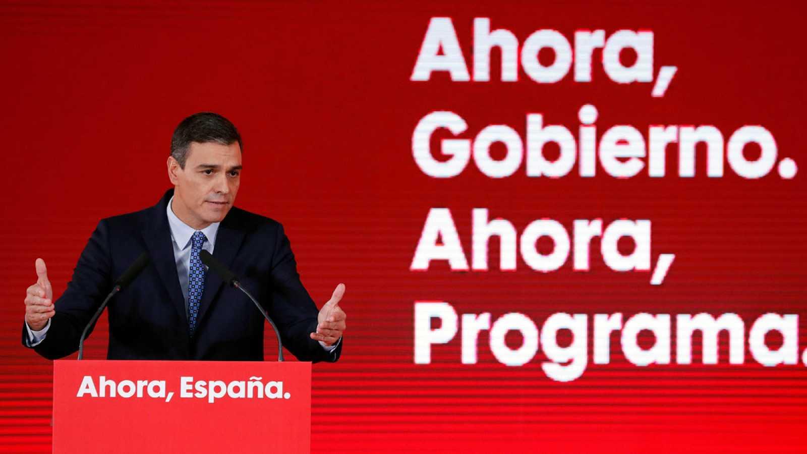Subir el salario mínimo y las pensiones, dos de las medidas principales del PSOE para el 10N
